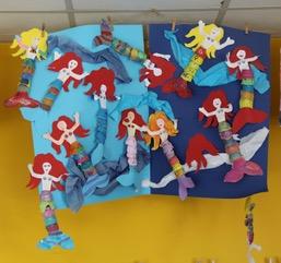 Die kleinen Meerjungfrauen